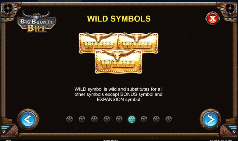 Big Bounty Bill :: Wild Symbols Rules