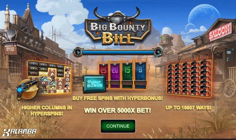 Big Bounty Bill :: Introduction