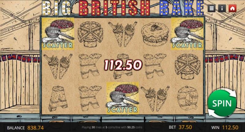 Big British Bake :: Scatter Win