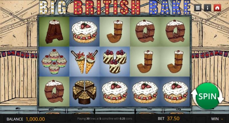 Big British Bake :: Main Game Board