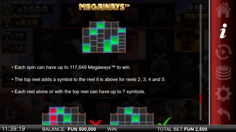 Big Bucks Bandits Megaways :: Megaways