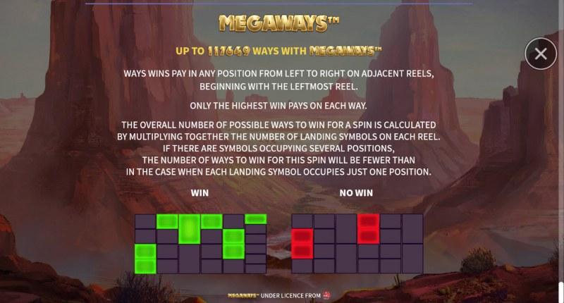 Big Buffalo Megaways :: 117649 Ways to Win