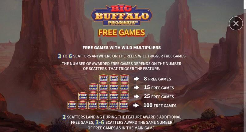 Big Buffalo Megaways :: Free Game Rules