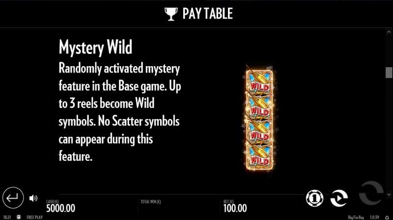 Big Fin Bay :: Mystery Wild