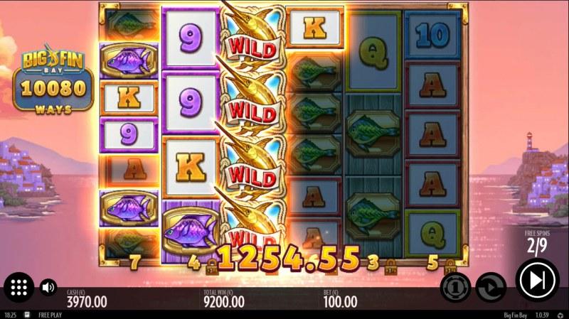 Big Fin Bay :: Multiple winning paylines