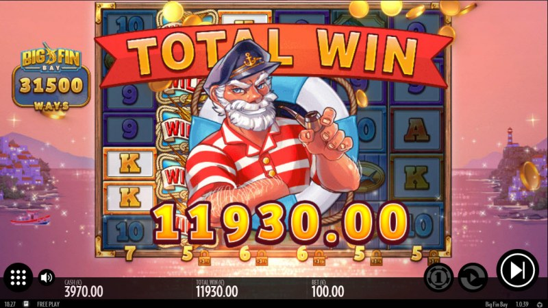 Big Fin Bay :: Total Free Spins Payout