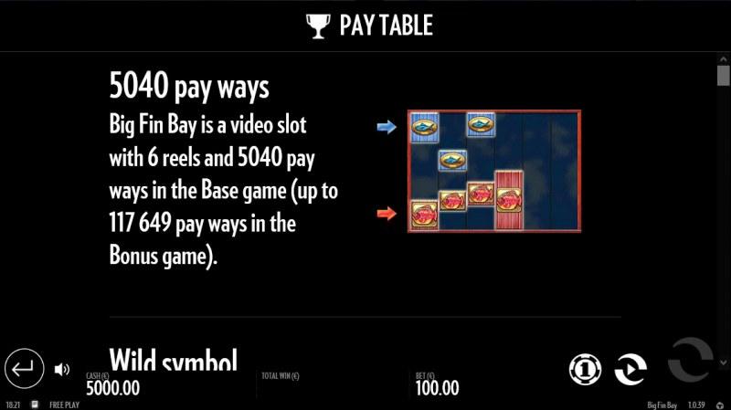 Big Fin Bay :: 5040 Ways to Win