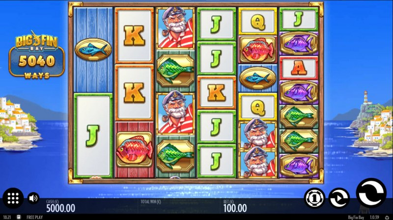 Big Fin Bay :: Main Game Board