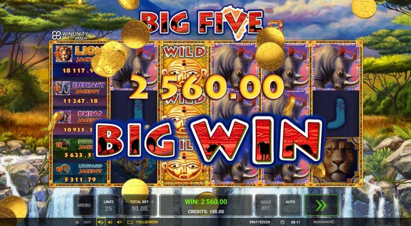 Big Five :: Big Win