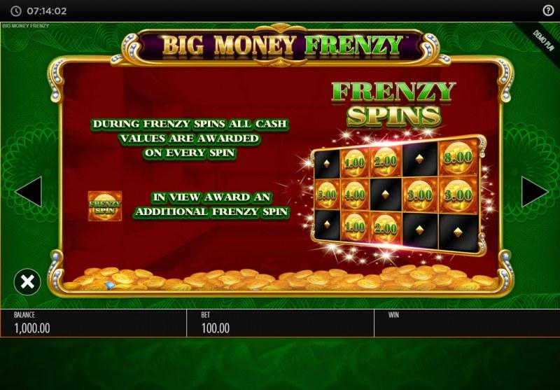 Big Money Frenzy :: Frenzy Spins