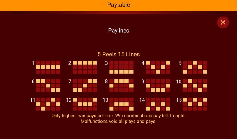 Big Prosperity Stand Alone :: Paylines 1-15