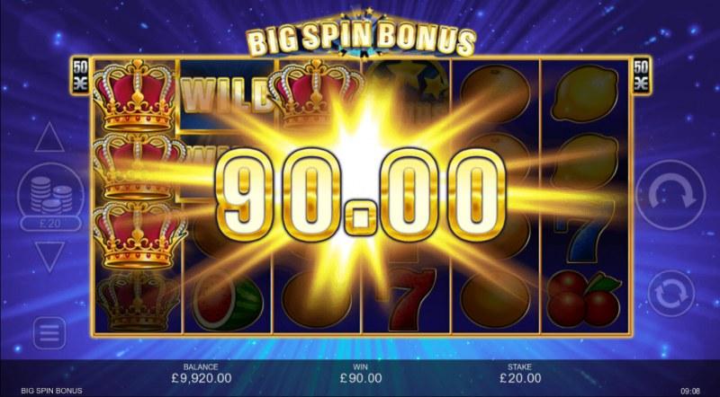 Big Spin Bonus :: Multiple winning paylines