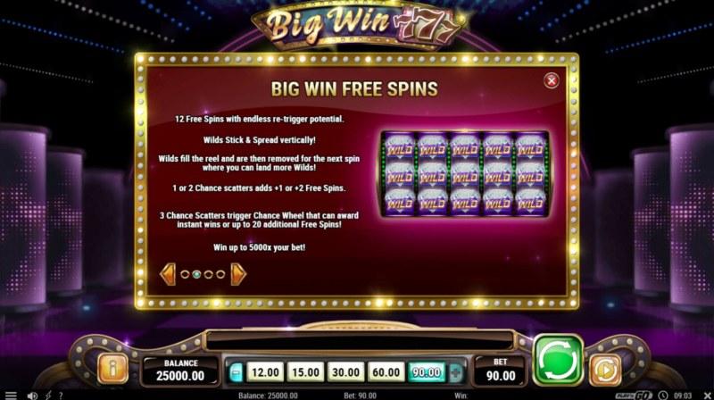Big Win 777 :: Big Win Free Spins