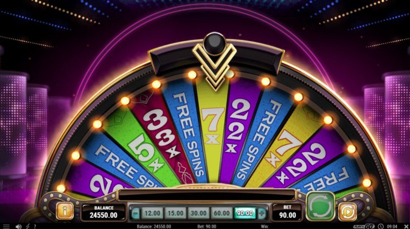 Play slots at Scatters: Scatters featuring the Video Slots Big Win 777 with a maximum payout of $90,000