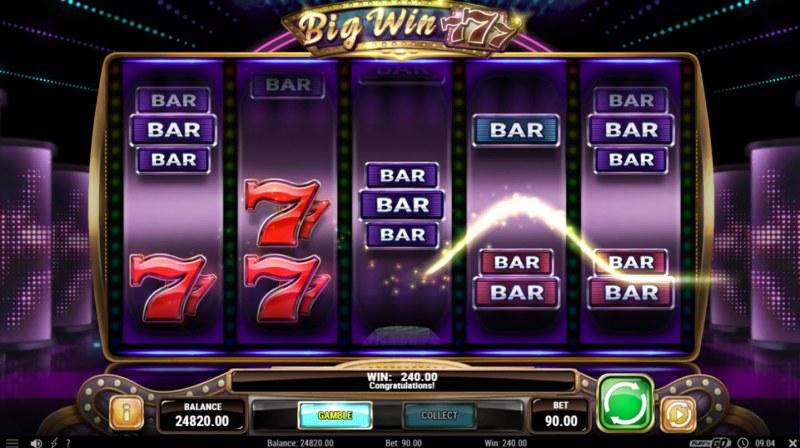 Big Win 777 :: Multiple winning paylines