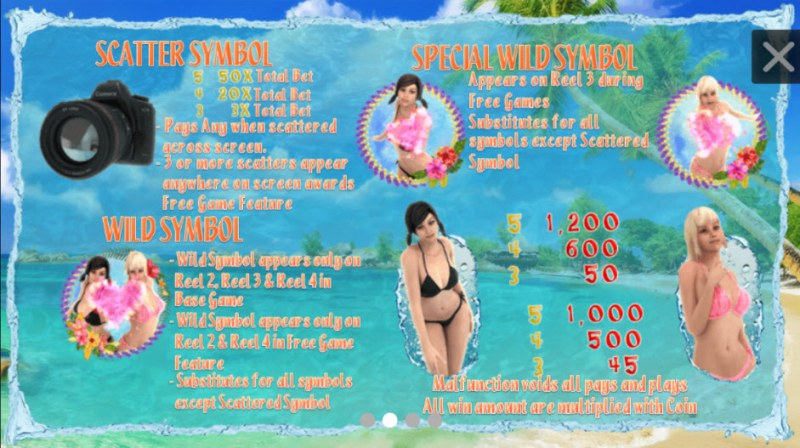 Bikini Chaser :: Wild and Scatter Rules