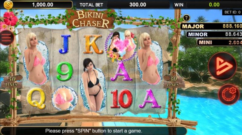 Bikini Chaser :: Main Game Board