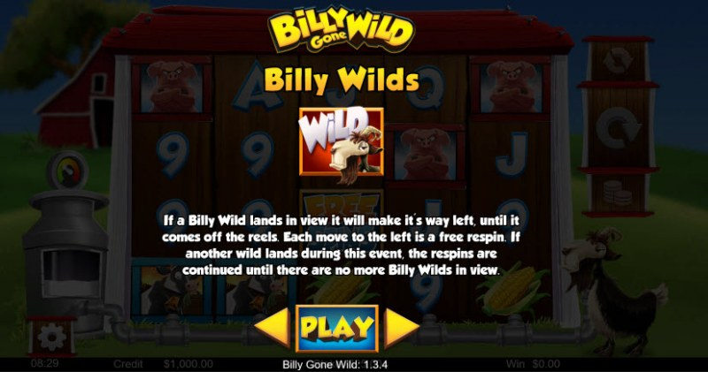 Billy Gone Wild :: Billy Wilds