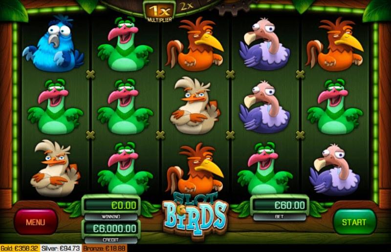 Birds :: Main Game Board