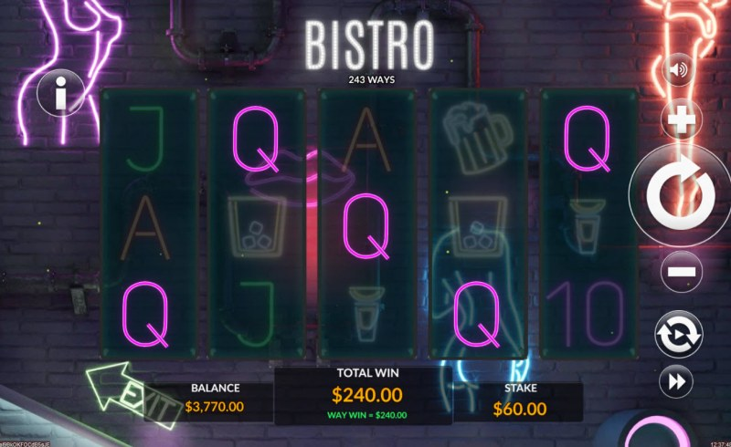 Bistro :: Five of a kind