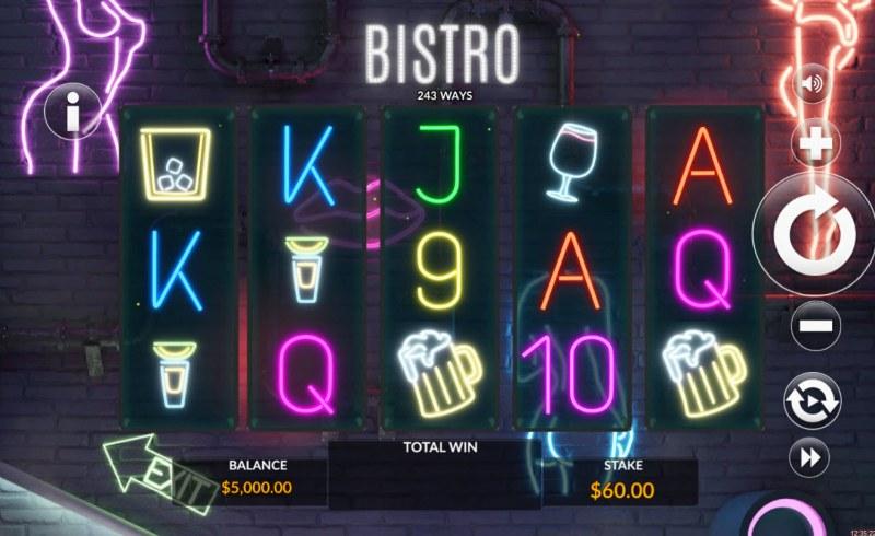Bistro :: Main Game Board