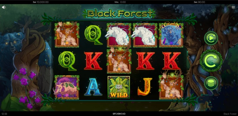 Black Forest :: Main Game Board