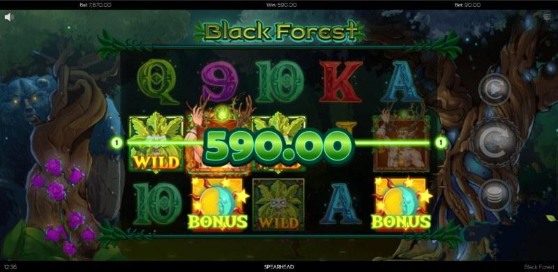 Black Forest :: Scatter Win