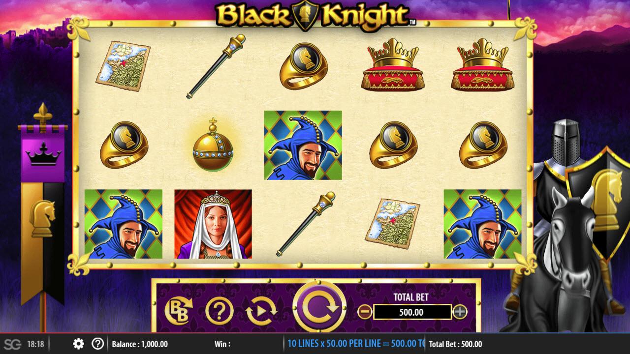 Black Knight :: Main Game Board