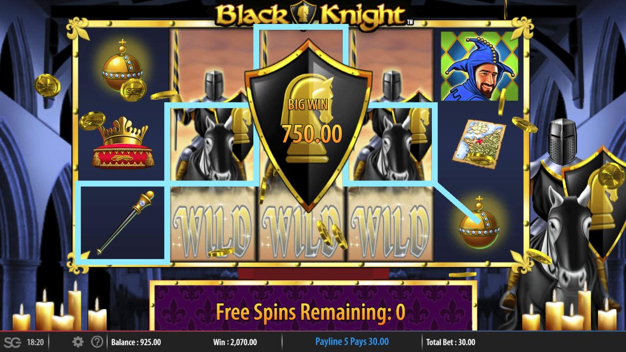 Black Knight :: Big Win