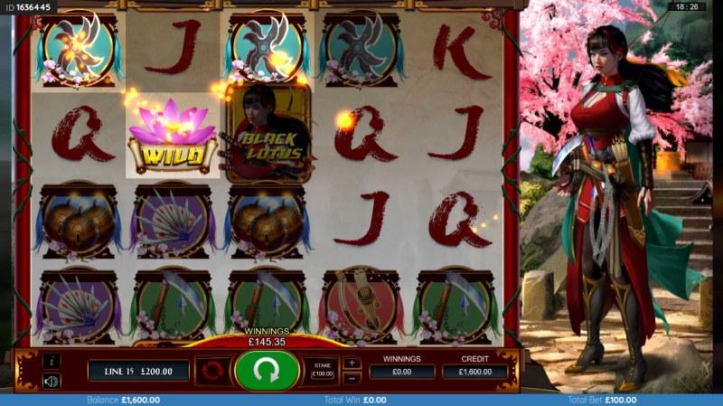 Black Lotus :: A three of a kind win