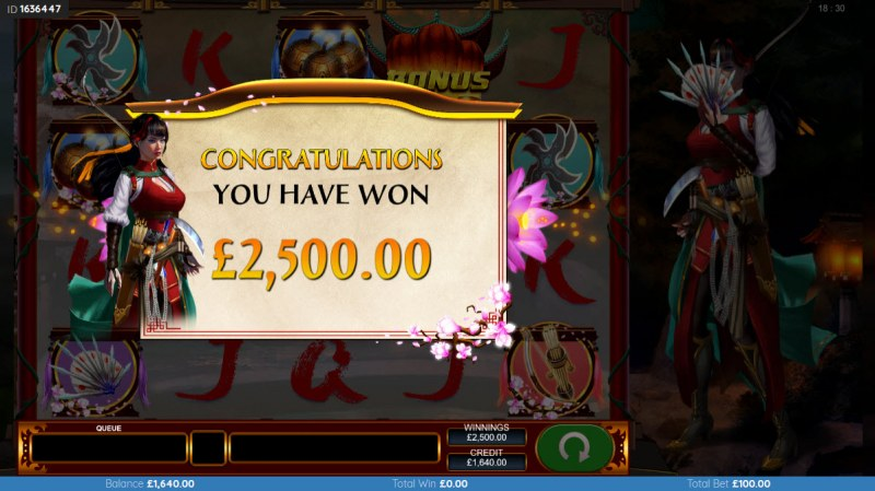Black Lotus :: Total Free Spins Payout