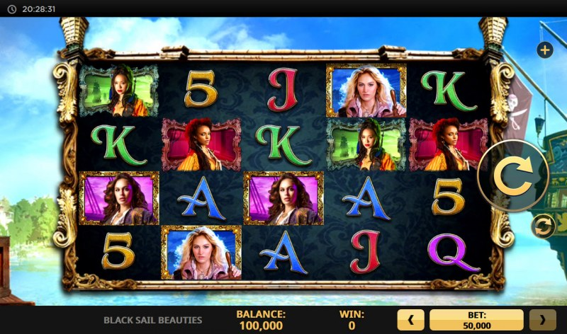 Black Sail Beauties :: Base Game Screen