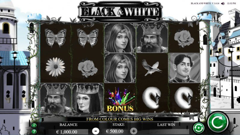 Black & White :: Main Game Board