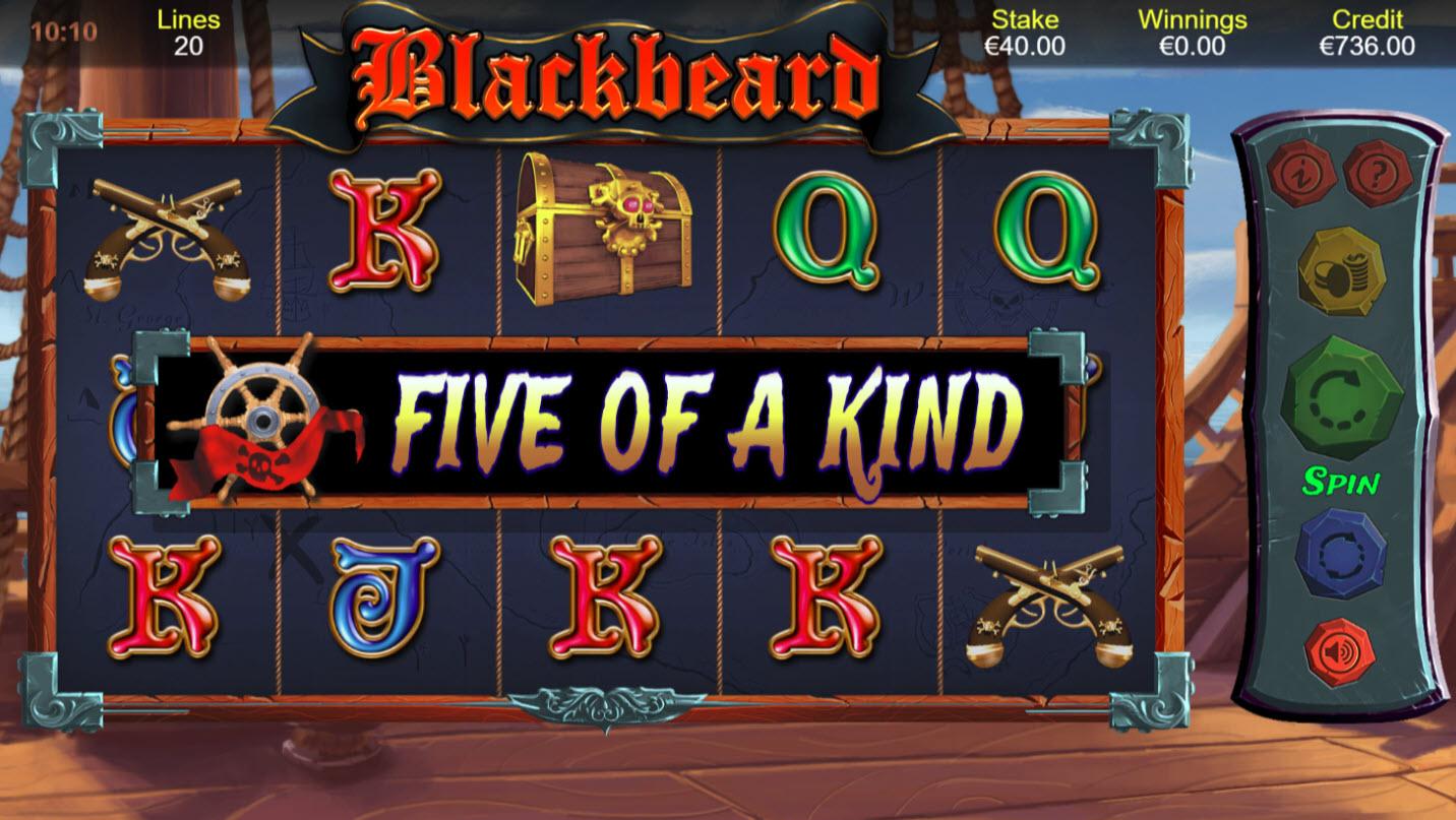 Blackbeard :: Five of a kind