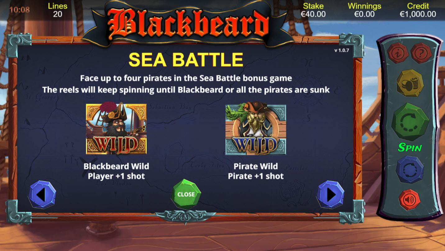Blackbeard :: Sea Battle