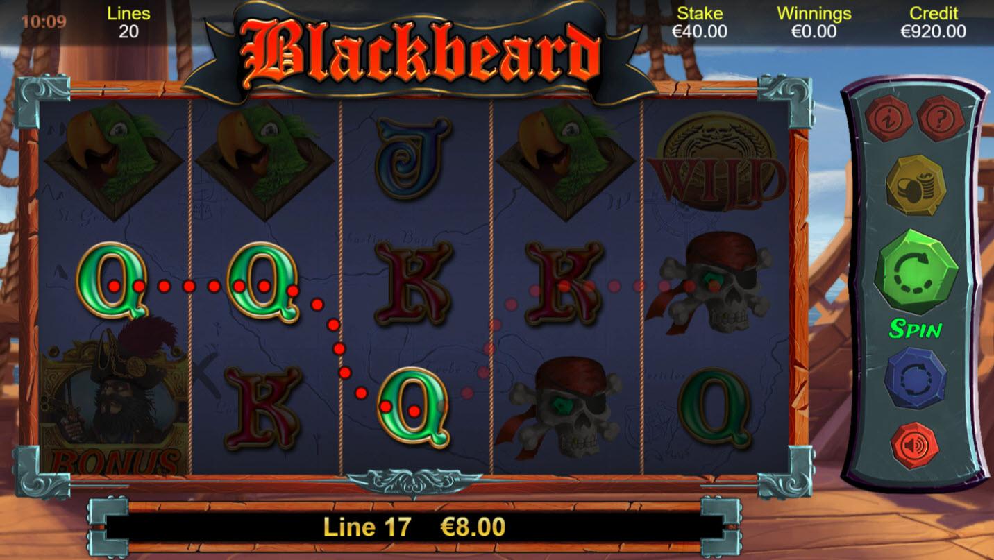 Blackbeard :: Three of a kind