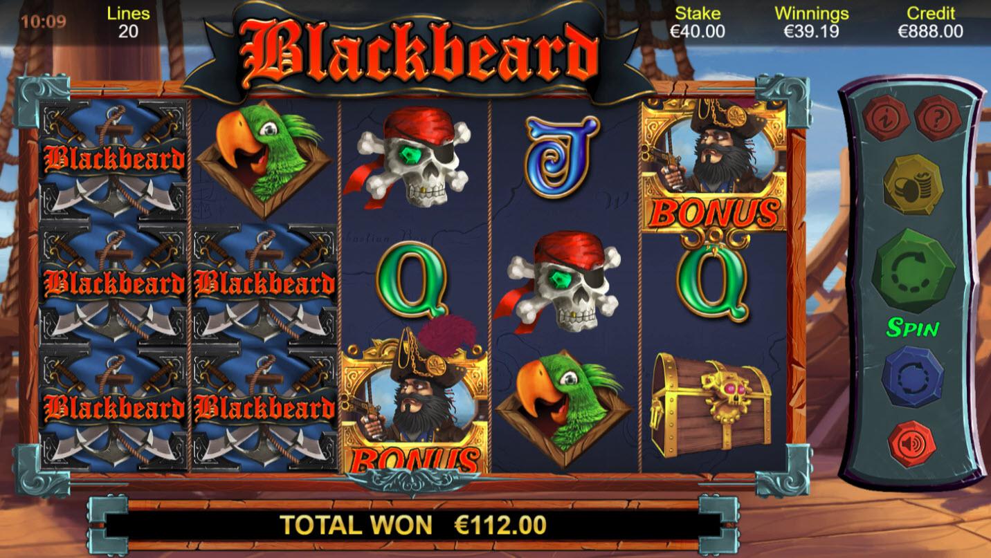 Blackbeard :: Multiple winning paylines