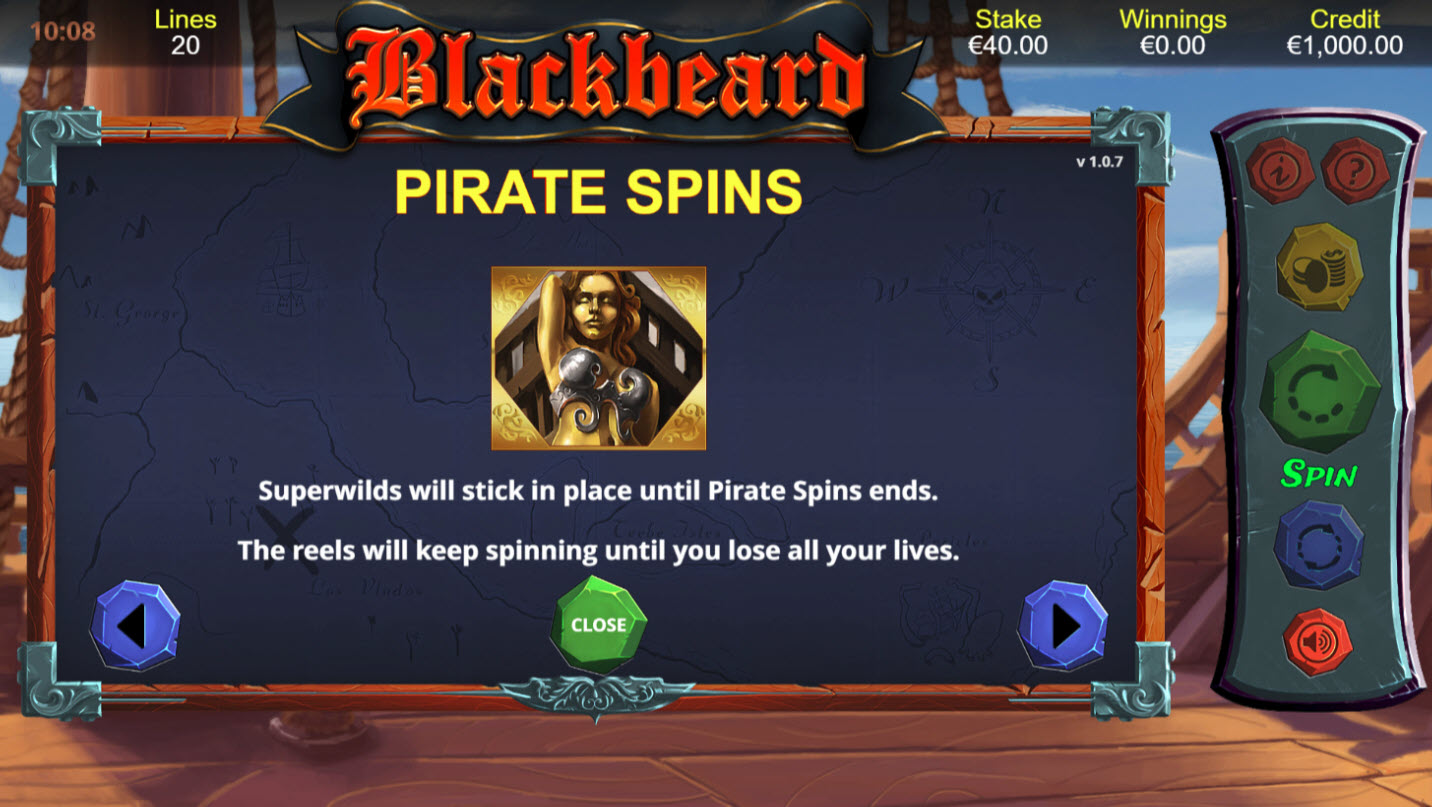 Blackbeard :: Pirate Spins