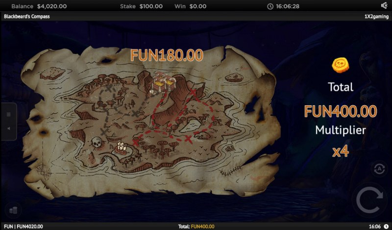 Blackbeard's Compass :: Traverse the island digging up treasure