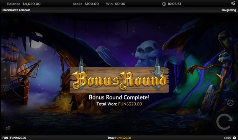 Blackbeard's Compass :: Total bonus payout