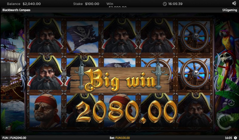 Blackbeard's Compass :: Big Win