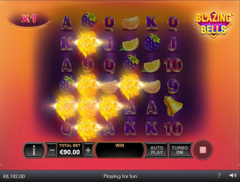 Blazing Bells :: Multiple winning combinations