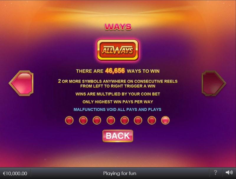 Blazing Bells :: 46656 Ways to Win