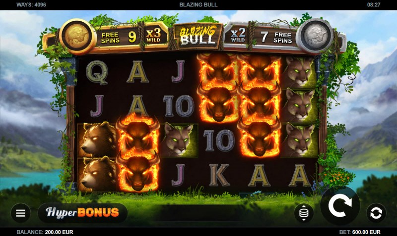 Blazing Bull :: Main Game Board