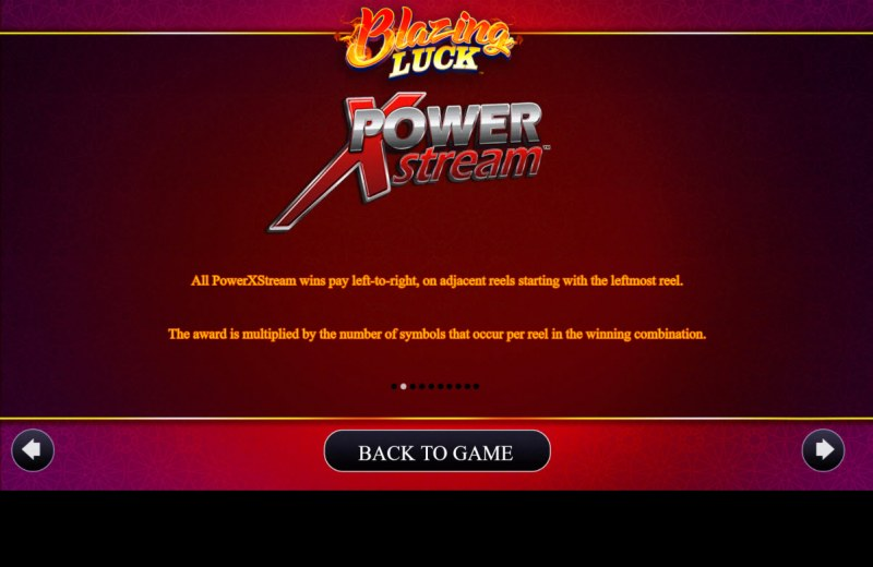Blazing Luck :: Power XStream