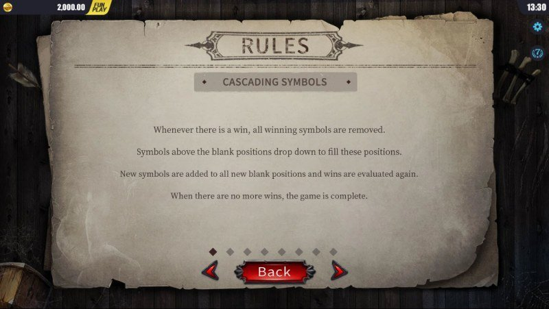 Blood Wolf Legend :: General Game Rules