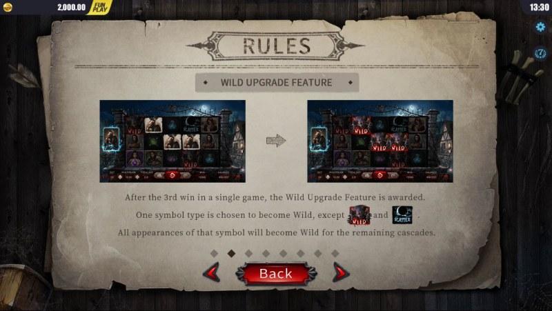 Blood Wolf Legend :: Wild Upgrade Feature