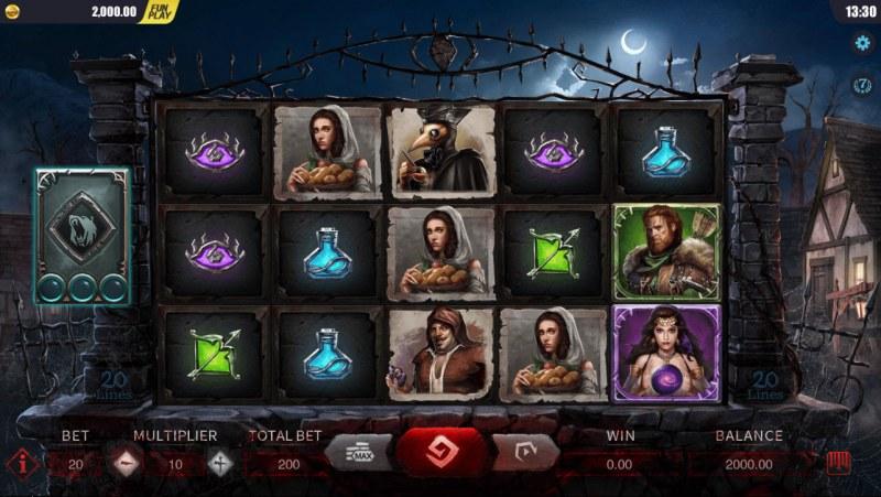 Blood Wolf Legend :: Main Game Board