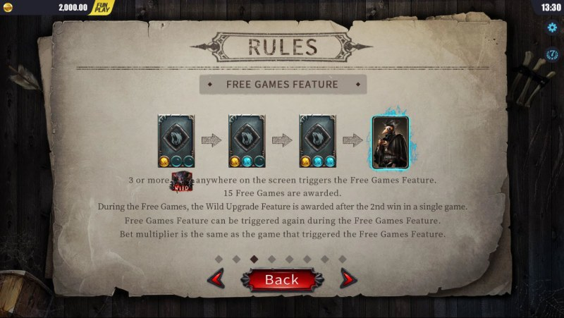 Blood Wolf Legend :: Free Games Feature