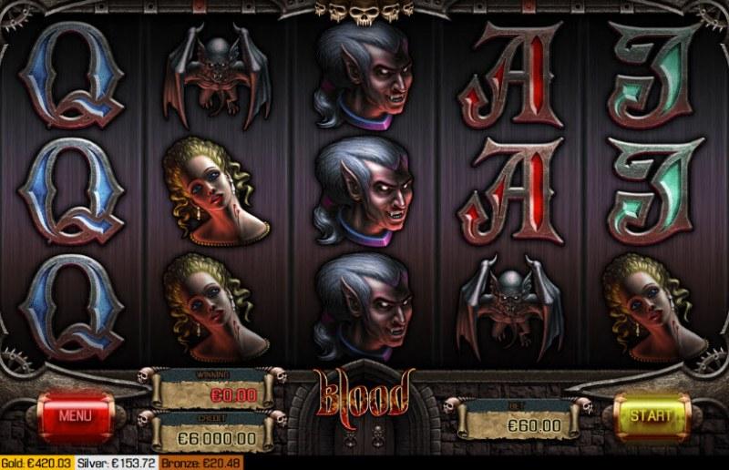 Blood :: Main Game Board